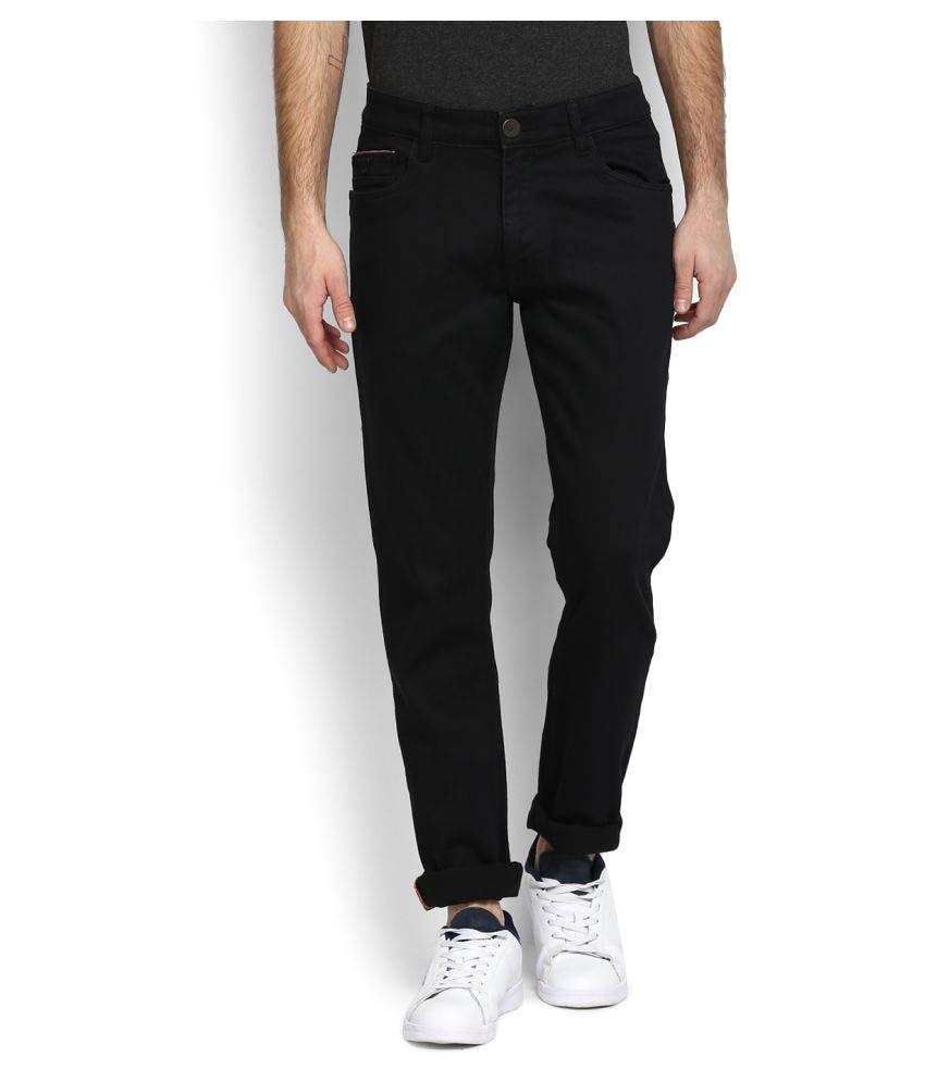 John Players Black Slim Jeans