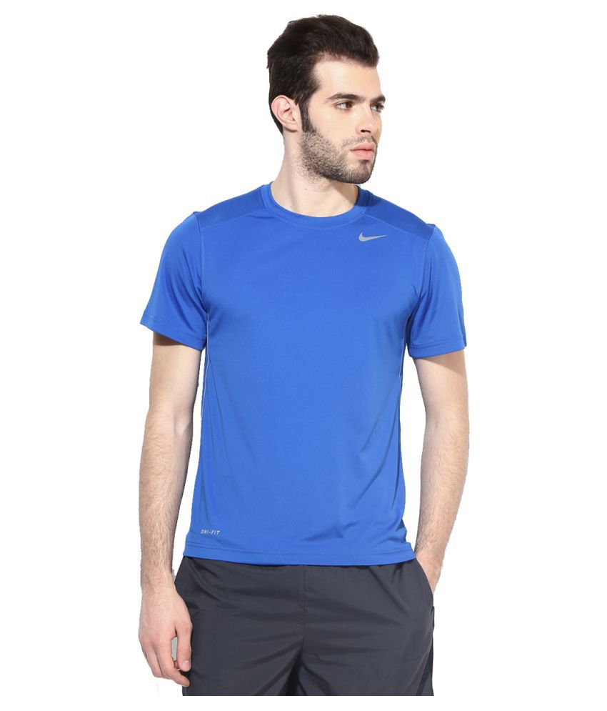 Nike Blue Men's T-Shirt