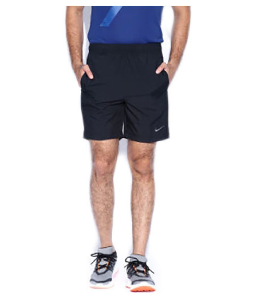 db89674db69f Nike Men s Short - Black  Buy Online at Best Price on Snapdeal
