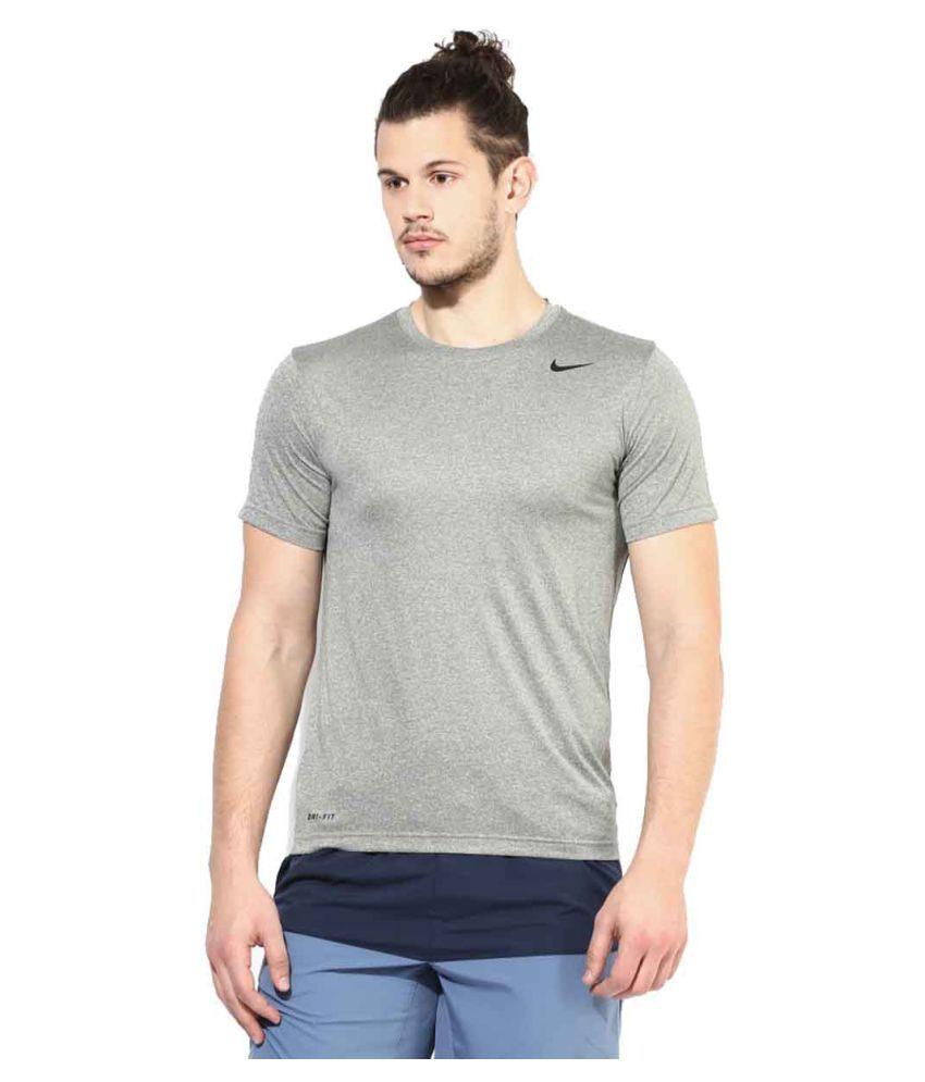 Nike Men's T-Shirt - Grey