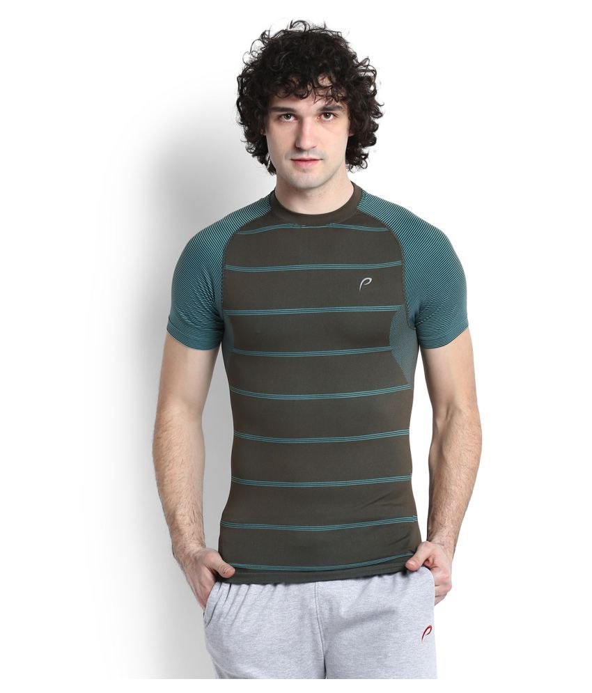 Proline Green Cotton T Shirt