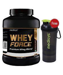MEDISYS Whey Force 2 Kg [Free-Shaker] 2 Kg Chocolate