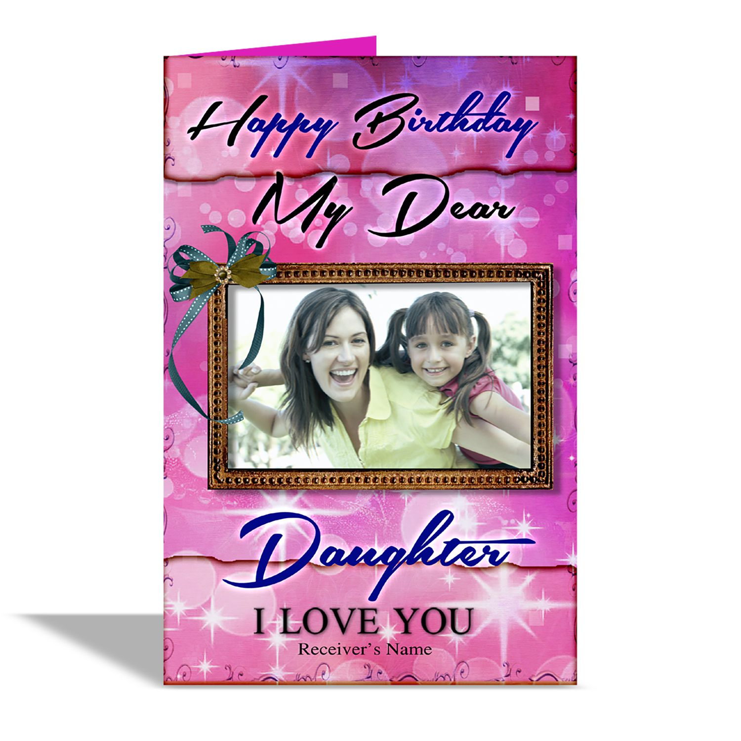Alwaysgift Happy Birthday My Dear Daughter Greeting Card Buy Online At Best Price In India