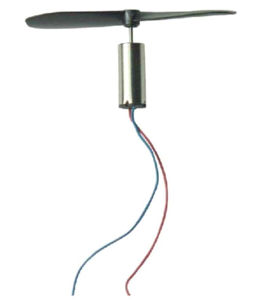 DC 3.7V 7mm x 16mm Magnetic Micro Coreless Motor Propeller 48000RPM