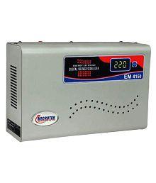 Microtek EM-4150 Microtek Suitable For AC (Upto 1.5 Ton) Stabilizer