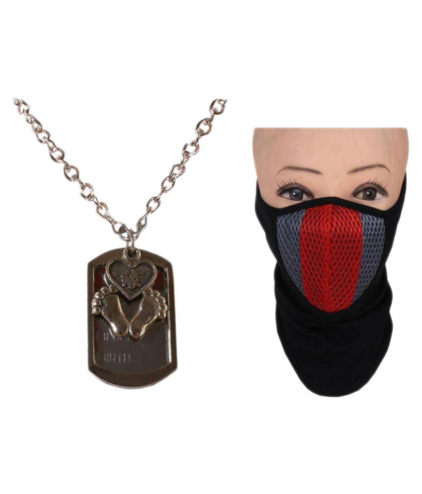 Sushito Multicolor Pendant with Face Mask