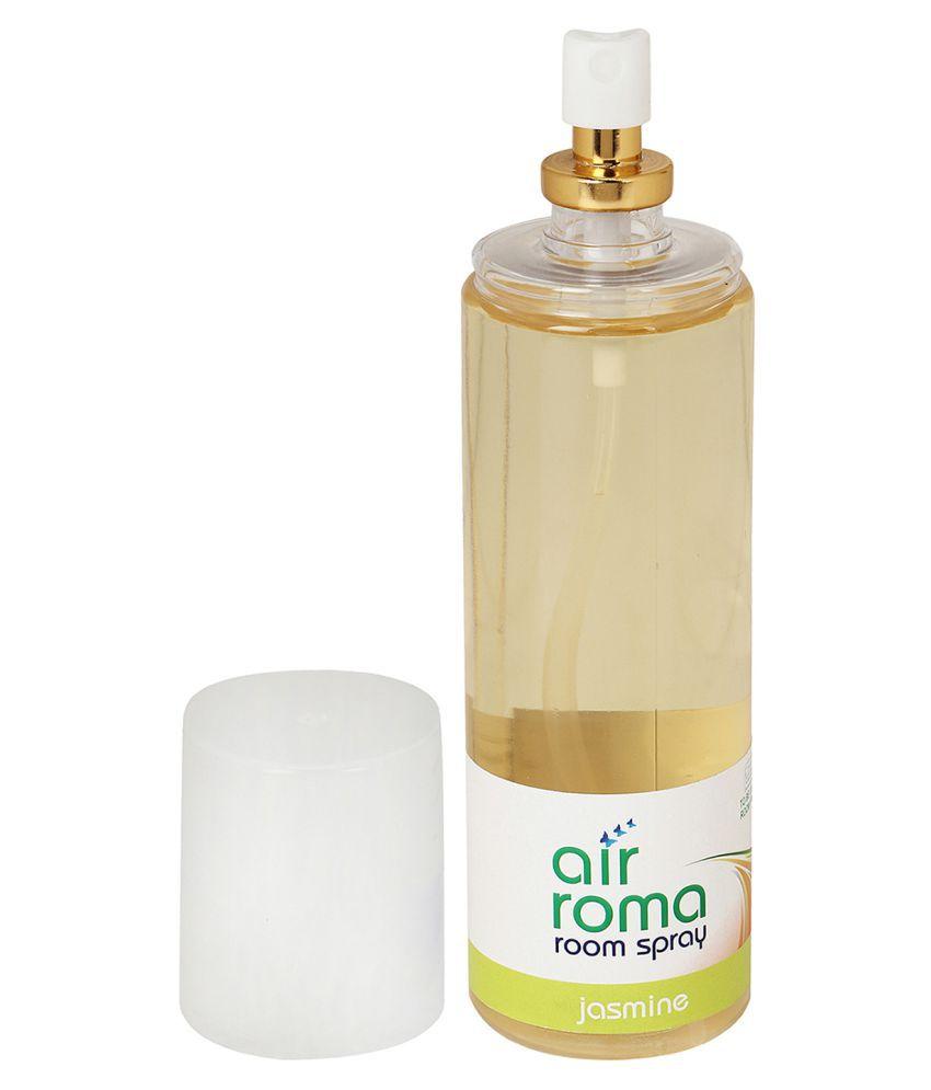 ... AirRoma Jasmine & Magic Mogra Fragrance Room Freshener Spray 200 ml  Pack ...
