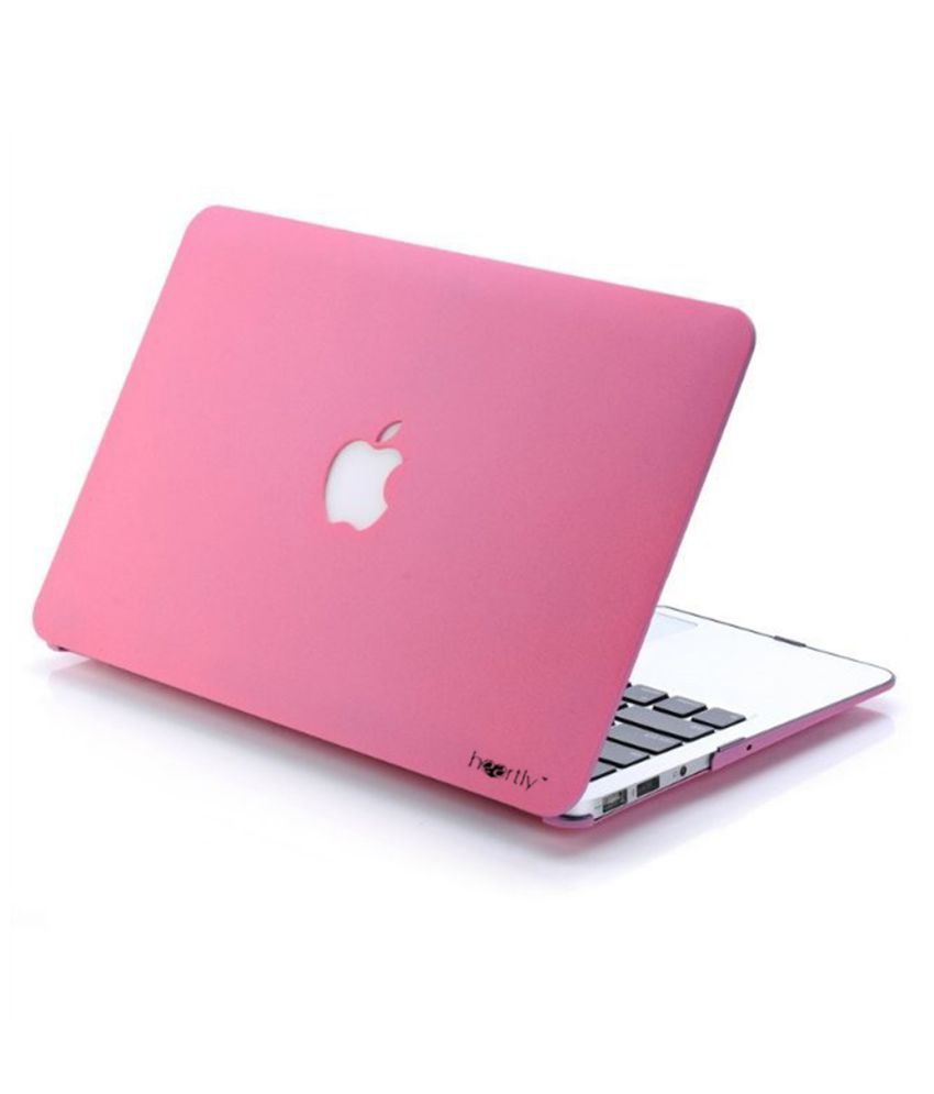 Heartly Pink Laptop Case