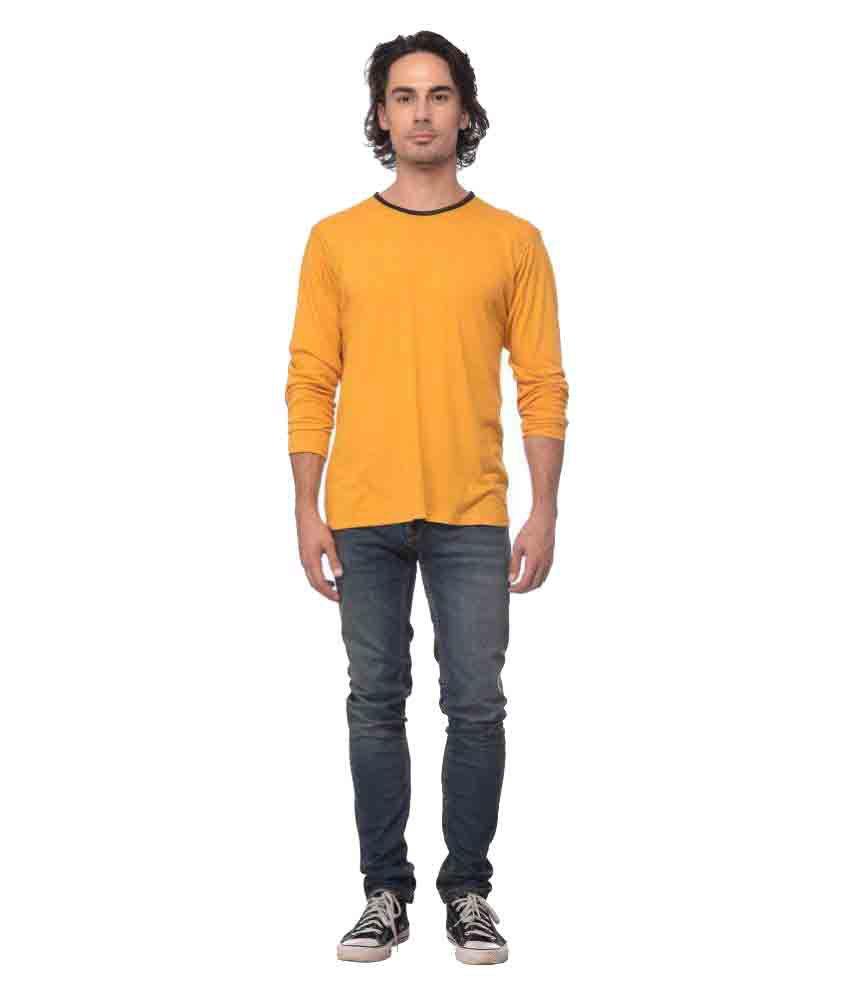Yoloclan Yellow Round T-Shirt