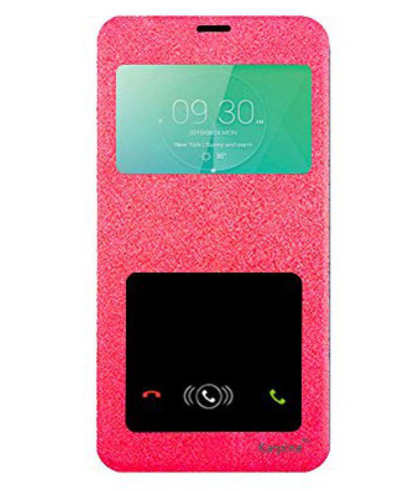 Karpine Flip Cover For Xiaomi Redmi Note 3 - Pink
