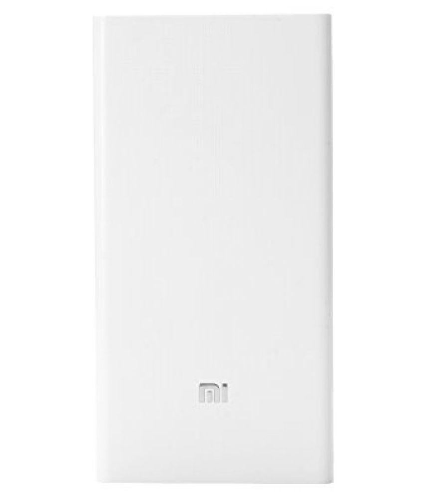 Mi 20000mAh Power Bank (White)
