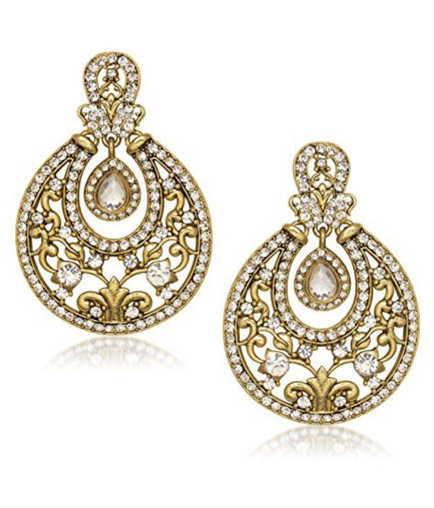 Meenaz Studs Ear Rings For Girls,Women In American Diamond Earrings For Women Jewellery