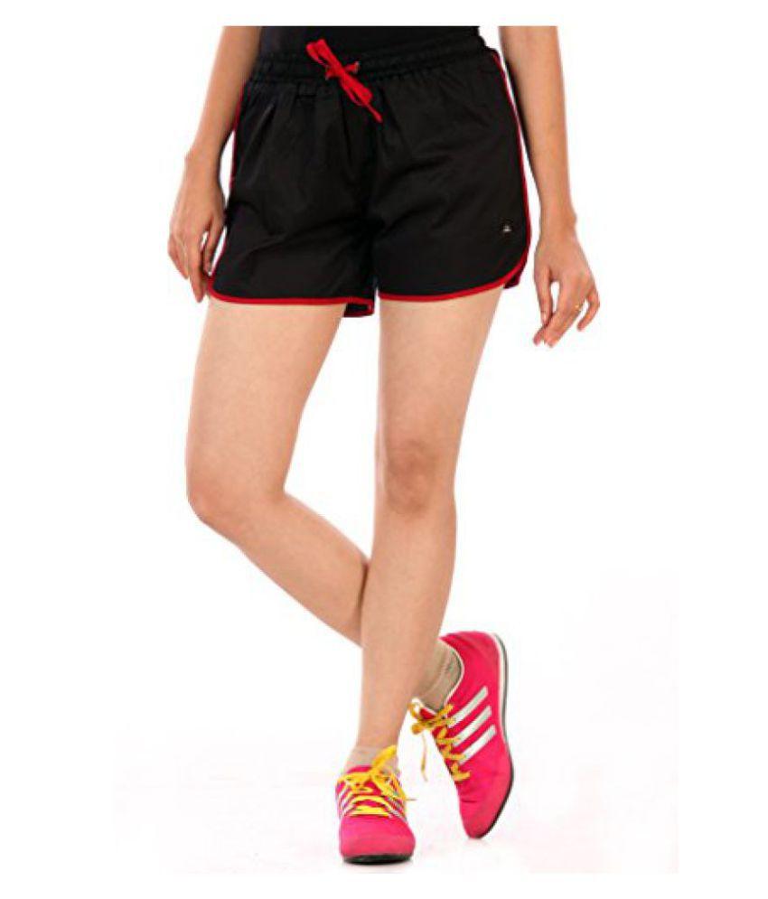 c2e2cb0dd Buy Abony Girls Satin Black Sporty Short (GBC587) Online at Best ...