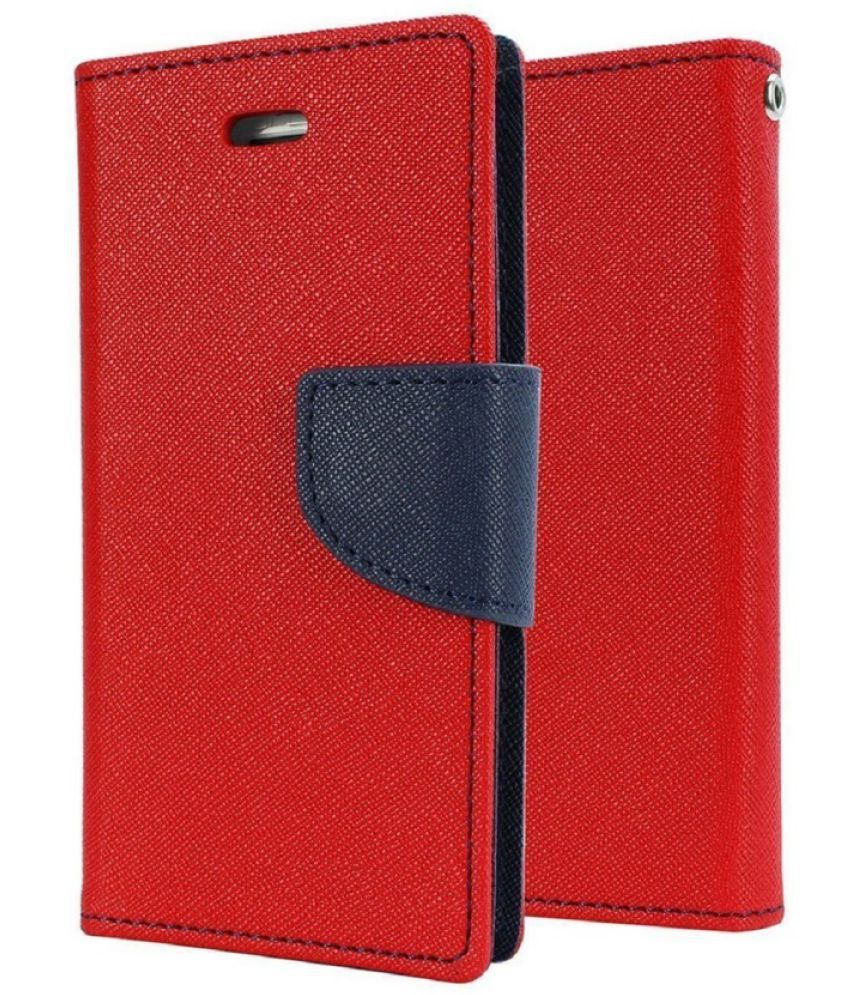 Microsoft Lumia 950 Flip Cover by RJR - Red