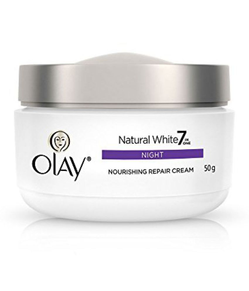 ... 50g Olay Natural White 7 in One Night Cream, 50g ...