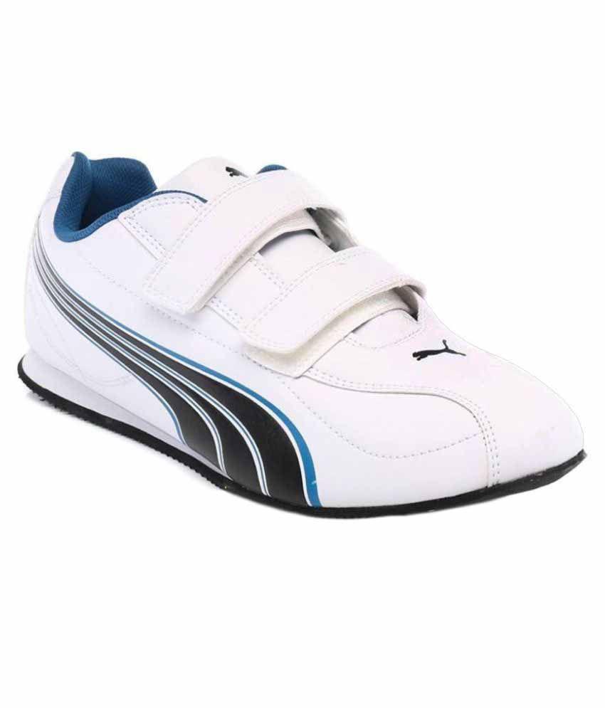 Puma White Running Shoes