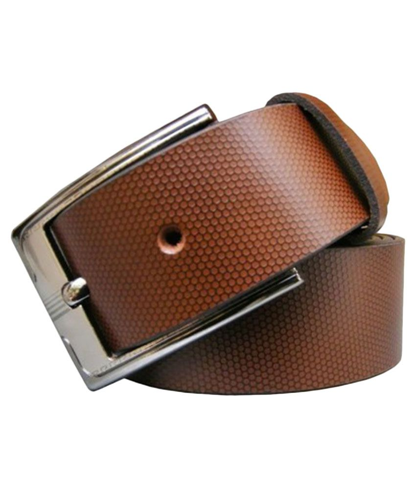 Winsome Brown Leather Formal Belts