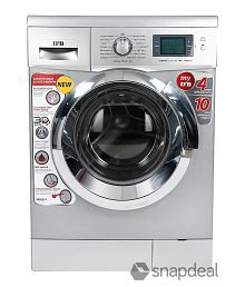 IFB 6.5 Kg Senorita Aqua SX Fully Automatic Front Load Washing Machine Silver
