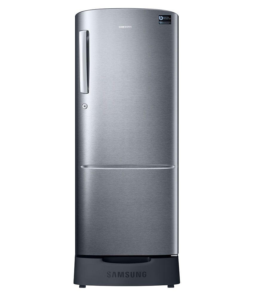 samsung 212 ltr 5 star rr22k287zs8 nl single door refrigerator with digital inverter elegant. Black Bedroom Furniture Sets. Home Design Ideas
