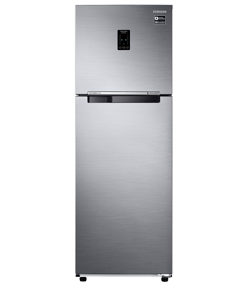 Samsung 255 Ltr 3 Star RT30K3753S9/HL Double Door Refrigerator - Refined Inox