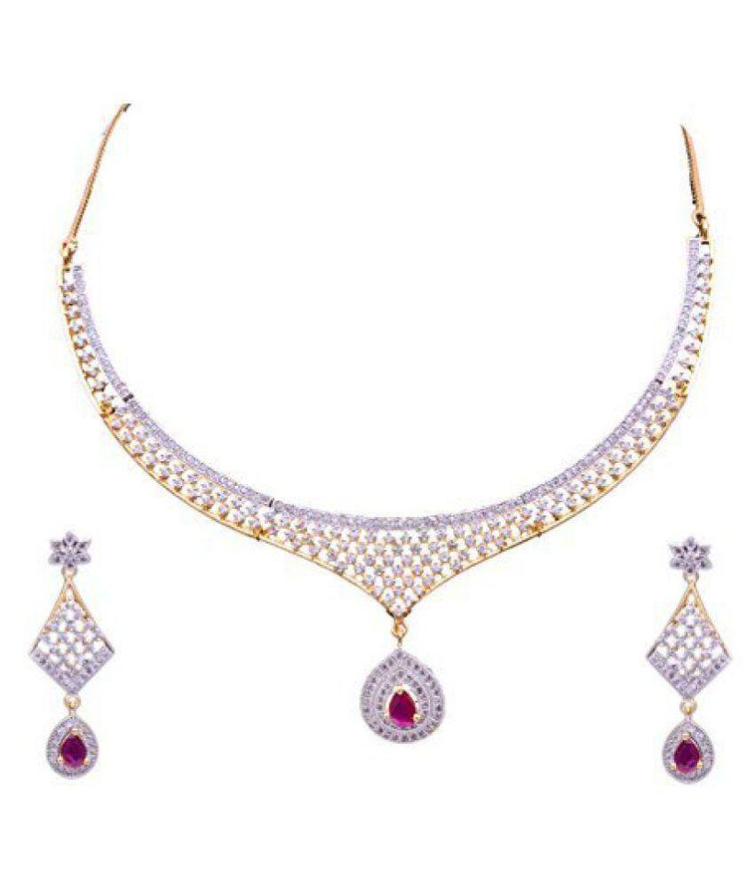 Sitashi Multicolour Copper Necklace Set