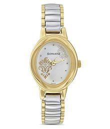 Sonata 8085BM02 Imperial Analog Watch