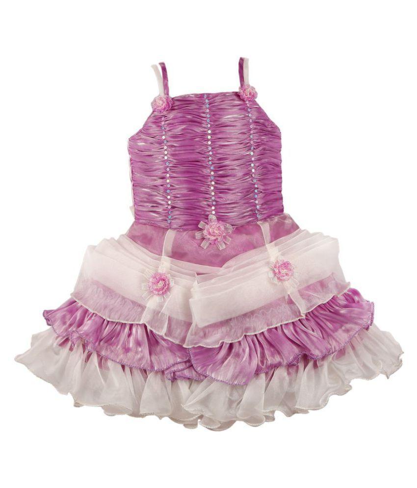 8db2e0a0e0f74 Wish Karo Baby Girls Party Wear Frock Dress DN 705 - Buy Wish Karo ...