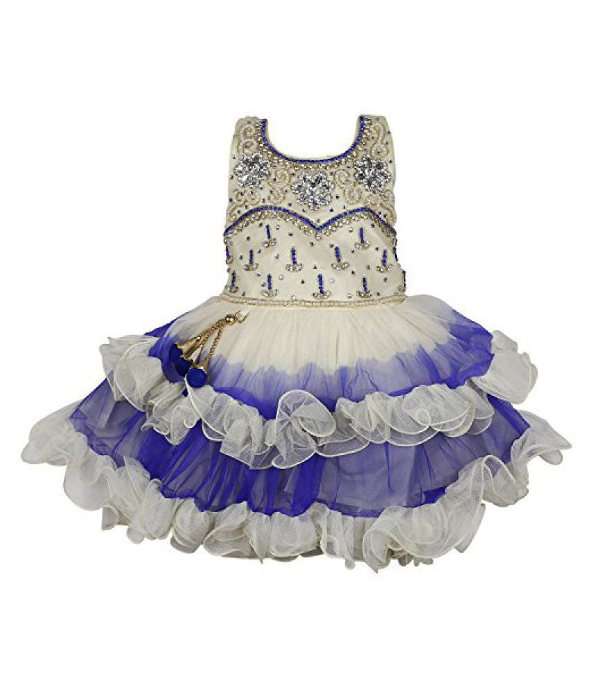 6ea92c85a Wish Karo Baby Girls Party wear frock dress DN 2138 - Buy Wish Karo Baby  Girls Party wear frock dress DN 2138 Online at Low Price - Snapdeal
