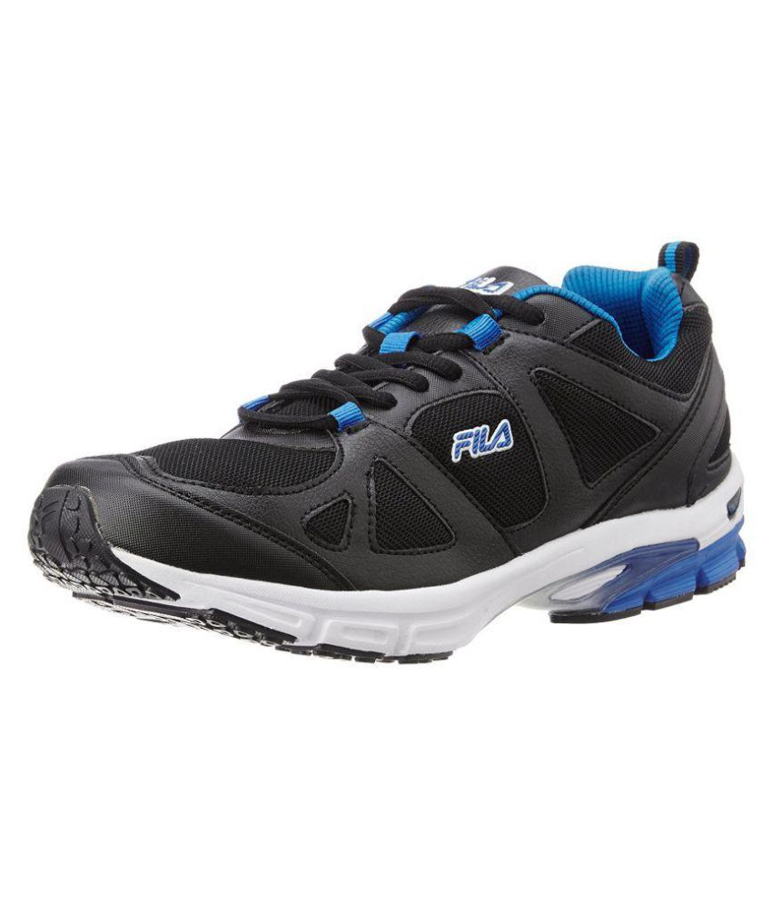 Fila Black Running Shoes