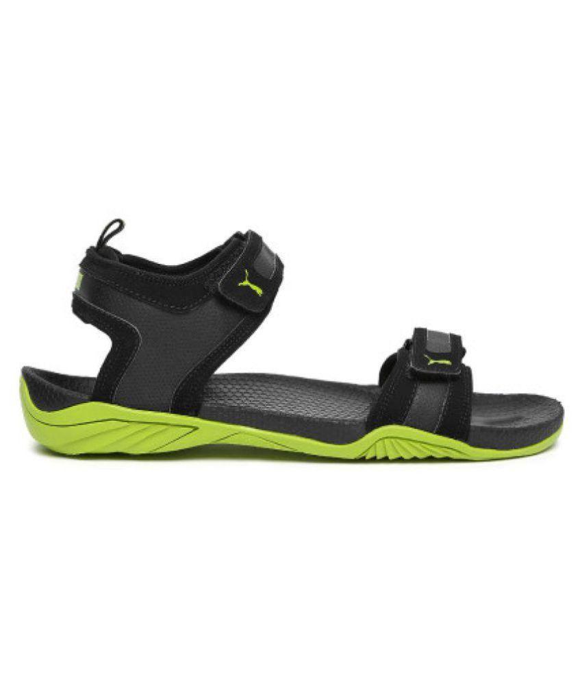 Puma Supremacy DP Black Floater Sandals Puma Supremacy DP Black Floater  Sandals ... 53c439ff1