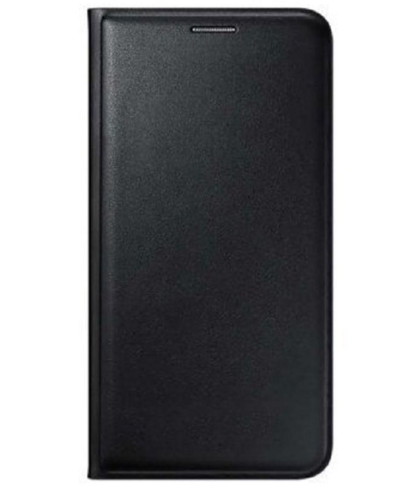 Samsung Galaxy J1 Flip Cover by Case Cloud - Black
