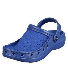 Spice Venchi Blue Clogs