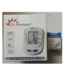 Dr Morepen Limited BP-09 BP-09 B.P. MONITOR + 100 HICKS LANCETS FREE