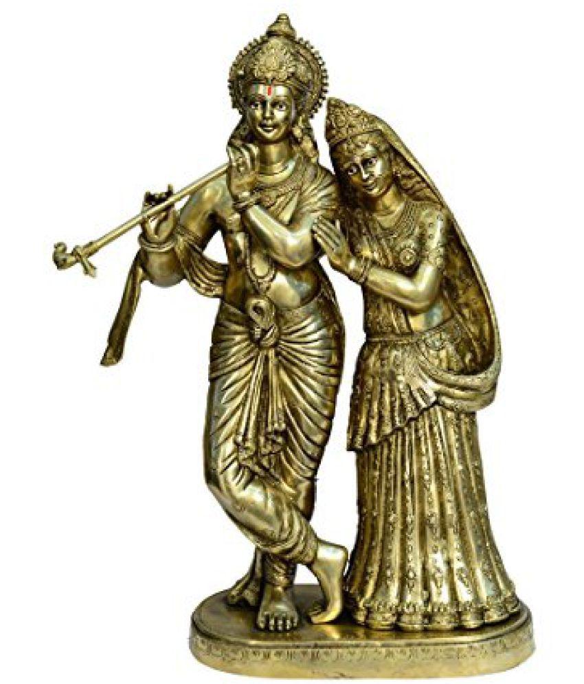 cc821537fc6 Brass Metal Lord Radha Krishna Statue Big Fine Finishing art by Bharat Haat  BH00784  Buy Brass Metal Lord Radha Krishna Statue Big Fine Finishing art  by ...