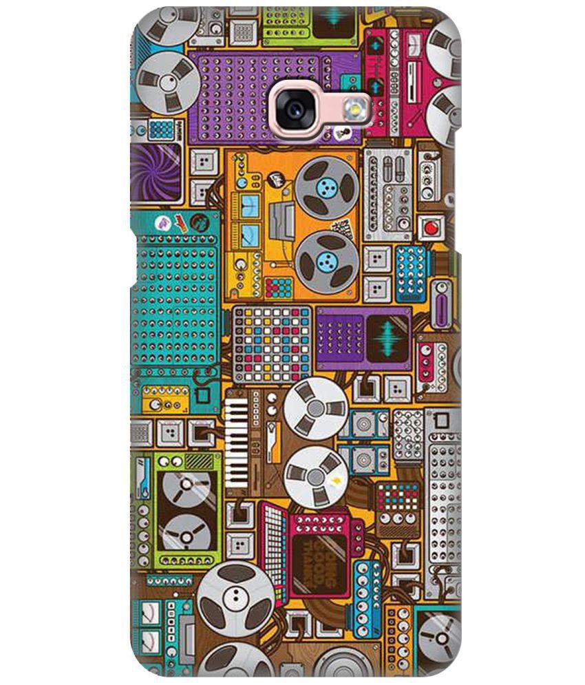 Samsung Galaxy A3 (2017) Printed Cover By ZAPCASE