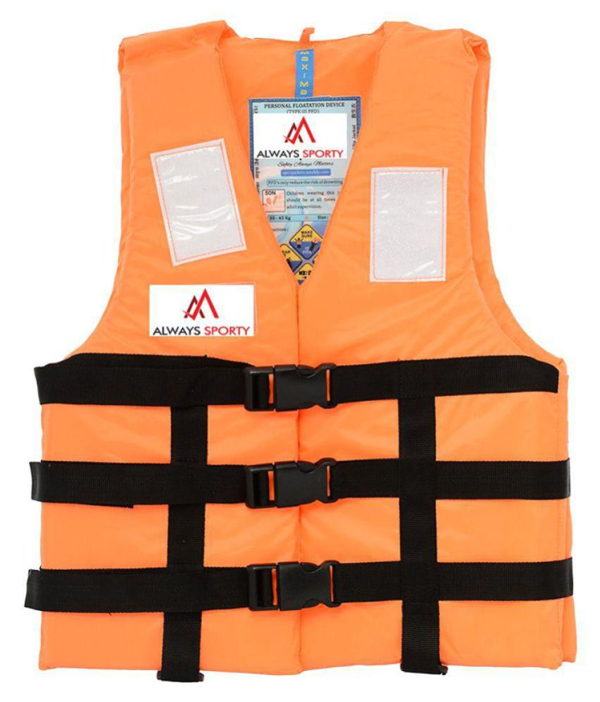 Always Sporty Orange Life Jacket
