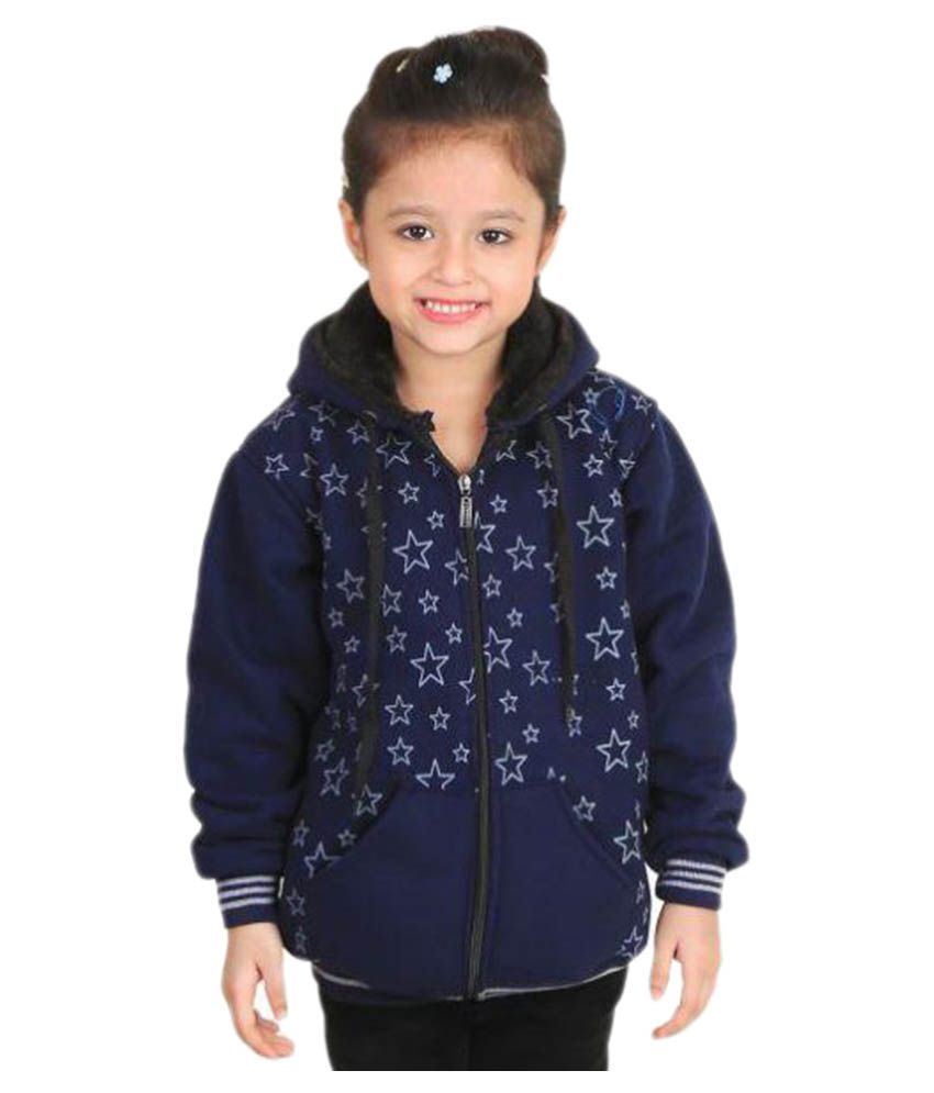 Crazeis Blue Woolen Jacket
