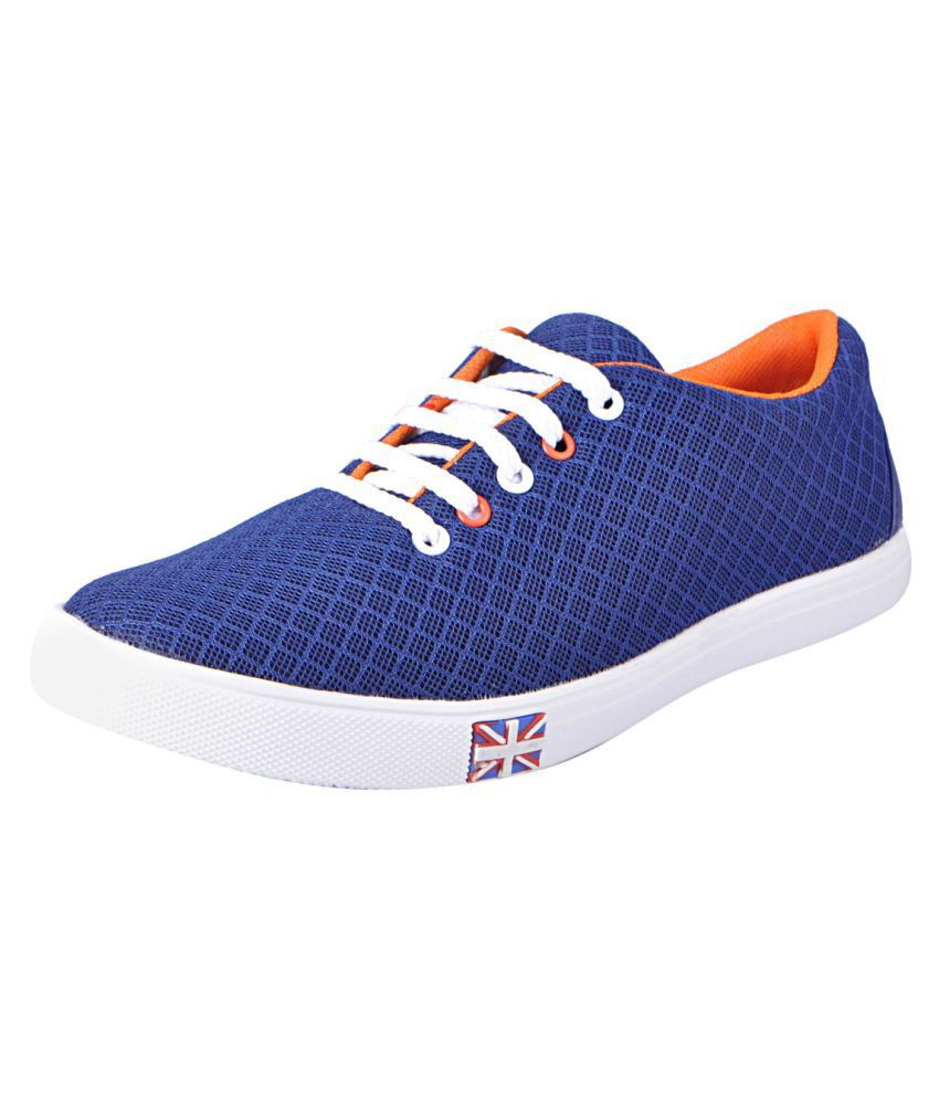 Fausto SDFST_1052_NAVY_BLUE Sneakers Navy Casual Shoes
