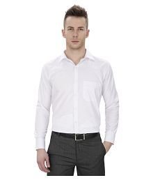 Regal Fit Plus White Formal Regular Fit Shirt - 624964425207