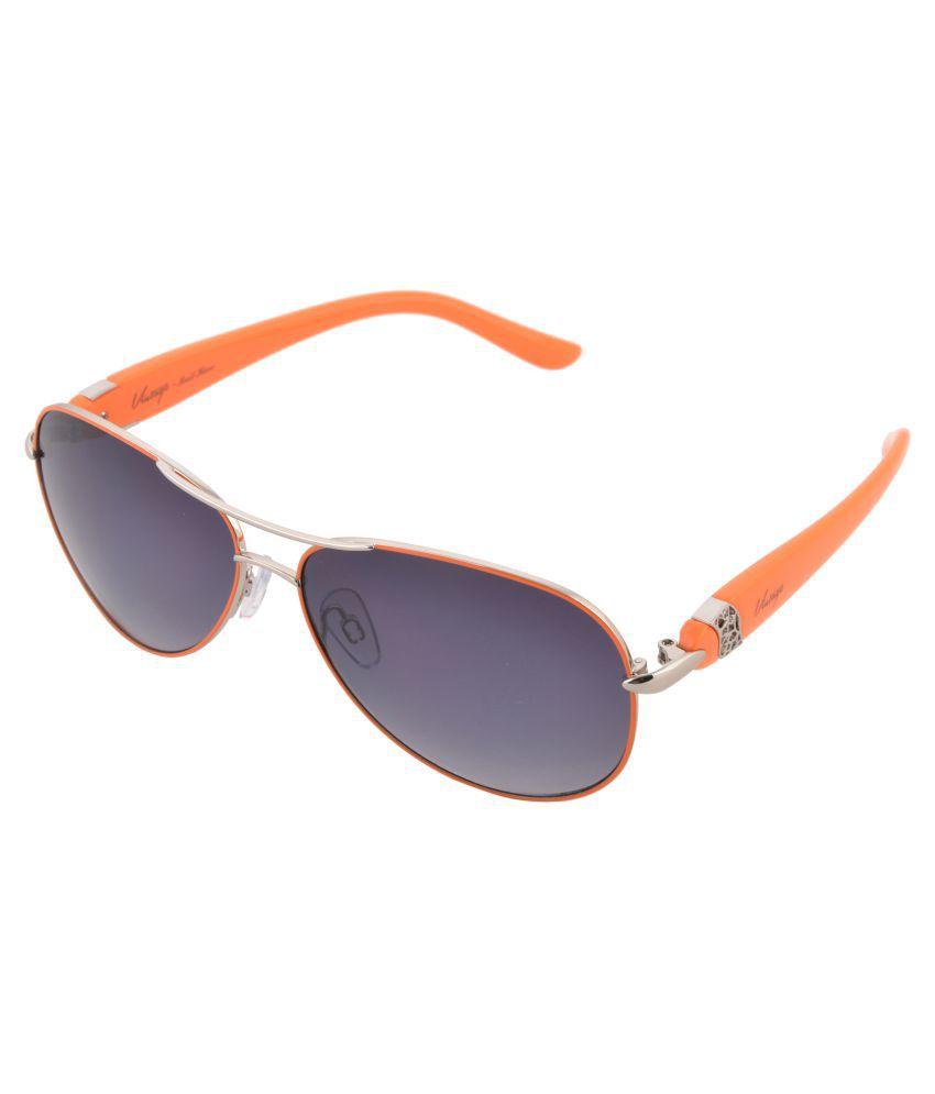 Vintage Grey Aviator Sunglasses ( 137 )