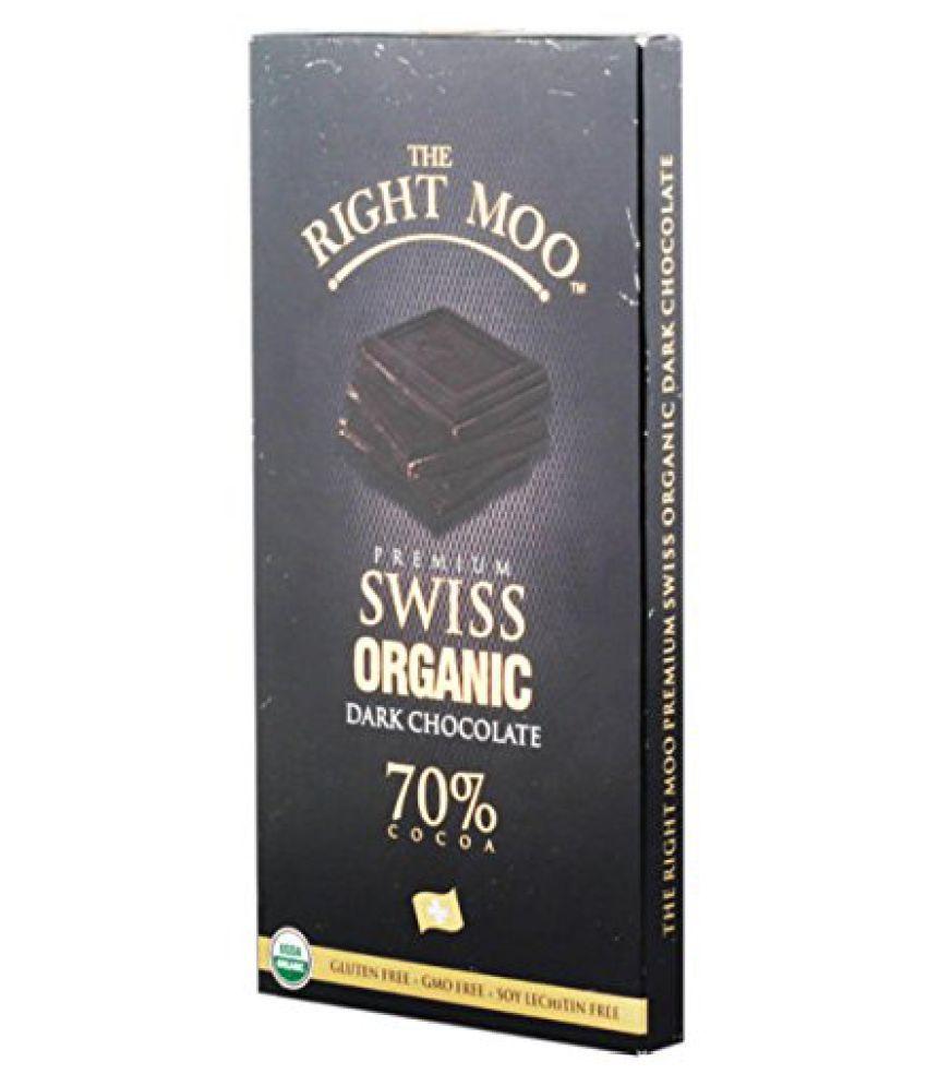 The Right Moo Organic Swiss Dark Chocolate 70g Buy The Right Moo