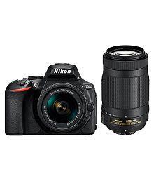 Nikon D5600 24.2 MP DSLR (with D-ZOOM KIT: AF-P DX NIKKOR 18-55mm f/3.5-5.6G VR + AF-P DX NIKKOR 70-300mm f/4.5-6.3G ED VR