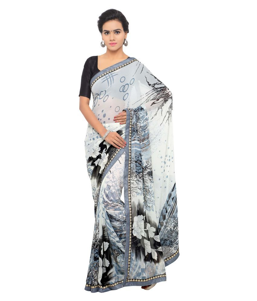 Anoha Multicoloured Georgette Saree