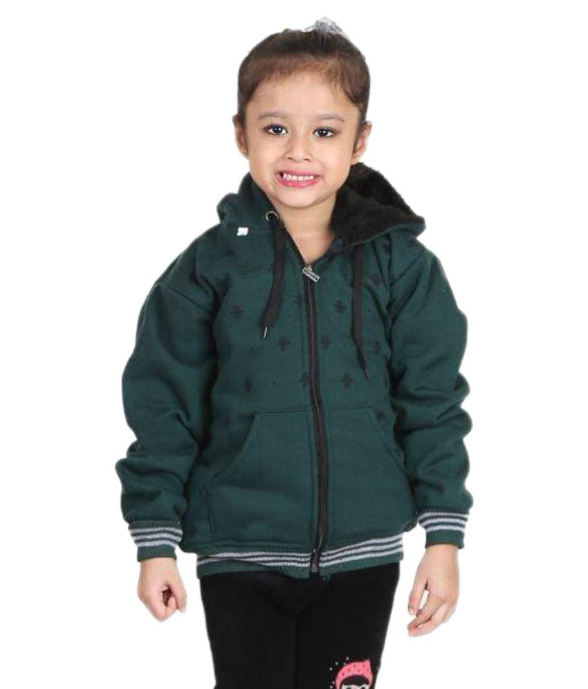 Crazeis Green Light Weight Jacket