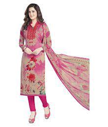 Varsha Multicoloured Chiffon Dress Material