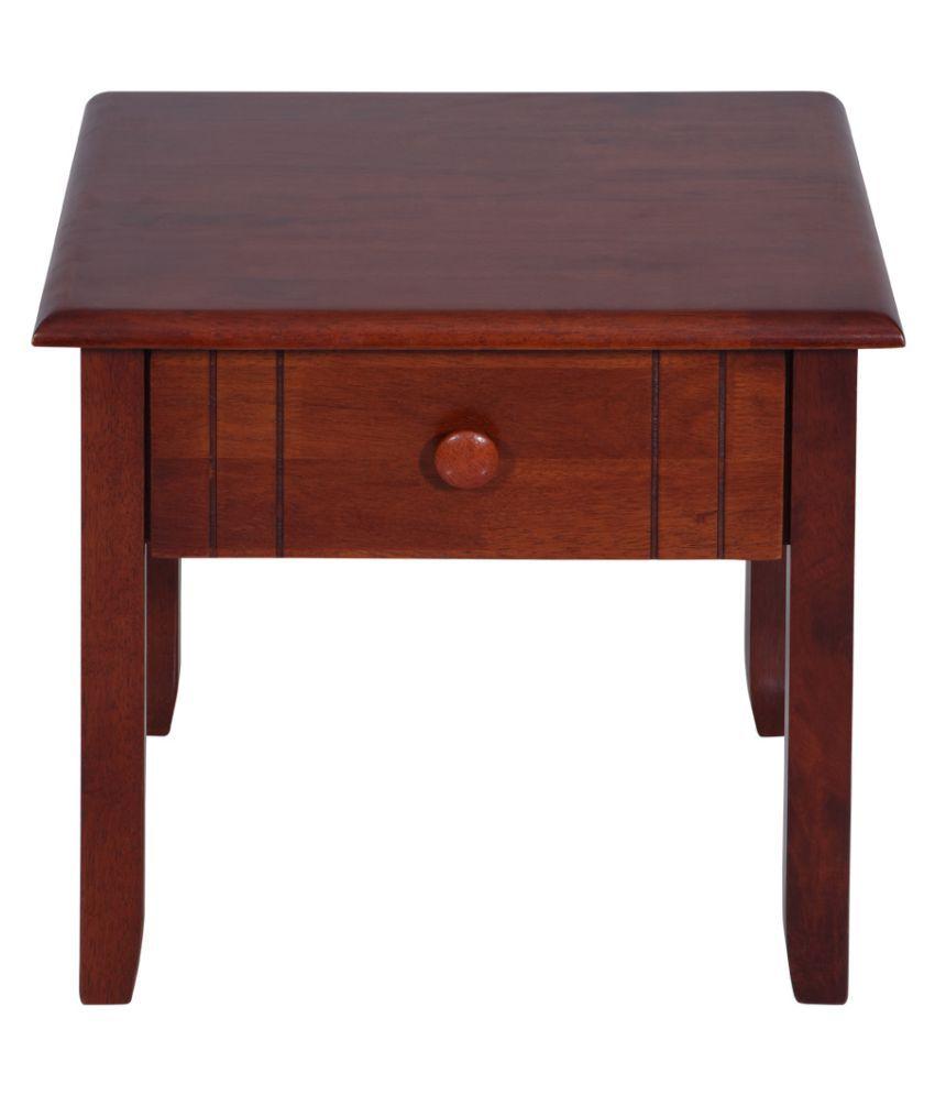 Evok Amber Solid Wood Night Stand