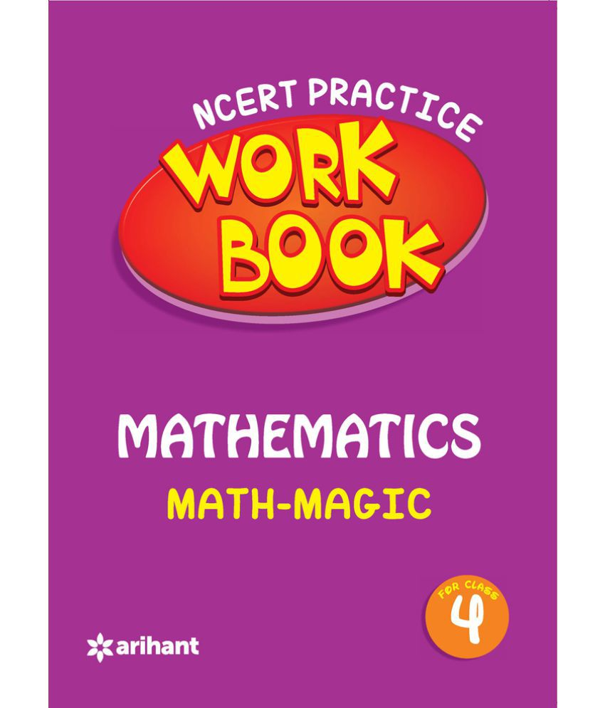NCERT Practice Workbook Mathematics With Magic Class 4: Buy NCERT ...