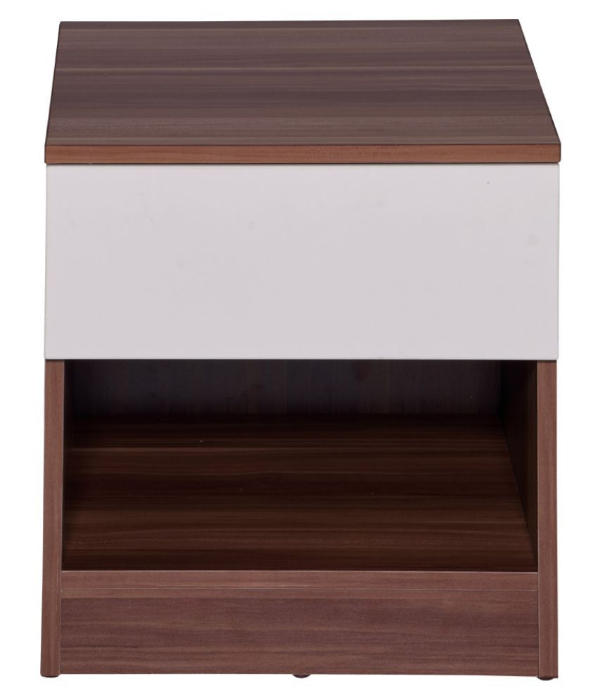 \nAnne Engineerwood Night Stand In cream White+Maple Color\n