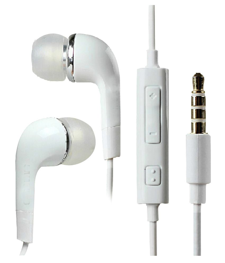 99 Deals In Ear Wired Earphones With Mic White Snapdeal Rs. 170.00