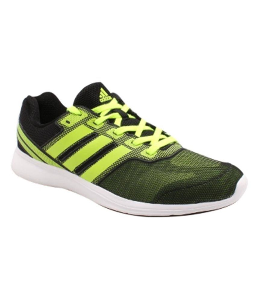 Adidas ADI PACER ELITE M Green Running Shoes